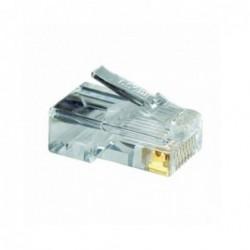 """Conector RJ45 Cat 6 50"""" x..."""